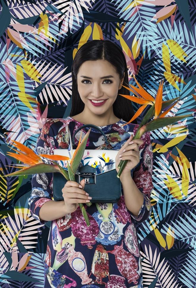 Bich Phuong phai long hoa tiet thien dieu trong BST 'Shades of love' hinh anh 2