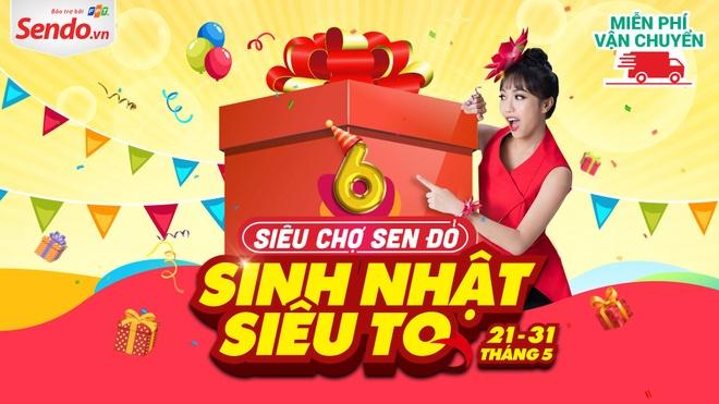 Sieu Cho Sen Do - 6 nam mot hanh trinh phat trien vuot bac hinh anh