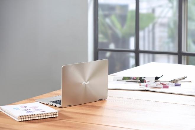 ZenBook Flip 14 - laptop có bản lề xoay gập nhỏ nhất thế giới