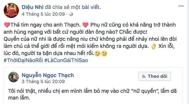 Nguyen Ngoc Thach, Ninh Duong Lan Ngoc 'doi dau' khi noi ve nu gioi hinh anh 3