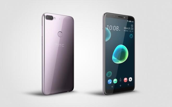HTC Desire 12 plus: Thiet ke be mat chat long, camera kep gia hop ly hinh anh 4