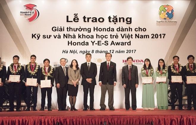 Giai thuong Honda Y-E-S: Co hoi thanh cong cho sinh vien yeu cong nghe hinh anh