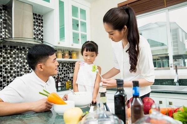 Mẹ thông thái không đặt nặng vấn đề tăng cân