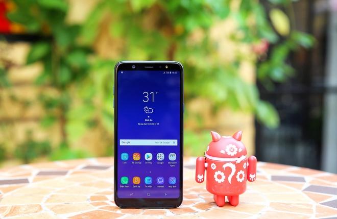 Galaxy A6/A6+: Smartphone tam trung so huu nhieu tinh nang cao cap hinh anh