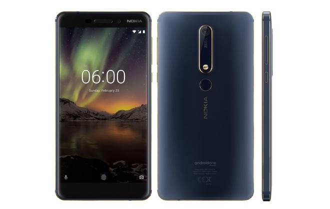 Nokia 6 moi ra mat phien ban blue gold danh cho phai manh hinh anh