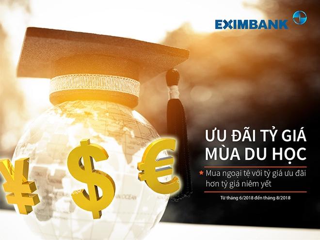 Eximbank uu dai ty gia mua du hoc hinh anh