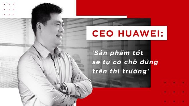 CEO Huawei: 'San pham tot se tu co cho dung tren thi truong' hinh anh