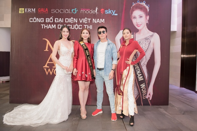Chi Nguyen len duong 'chinh chien' tai Miss Asia World 2018 hinh anh 1