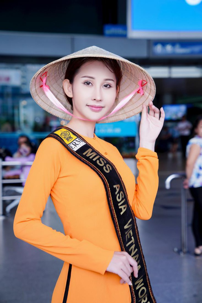 Chi Nguyen len duong 'chinh chien' tai Miss Asia World 2018 hinh anh 3