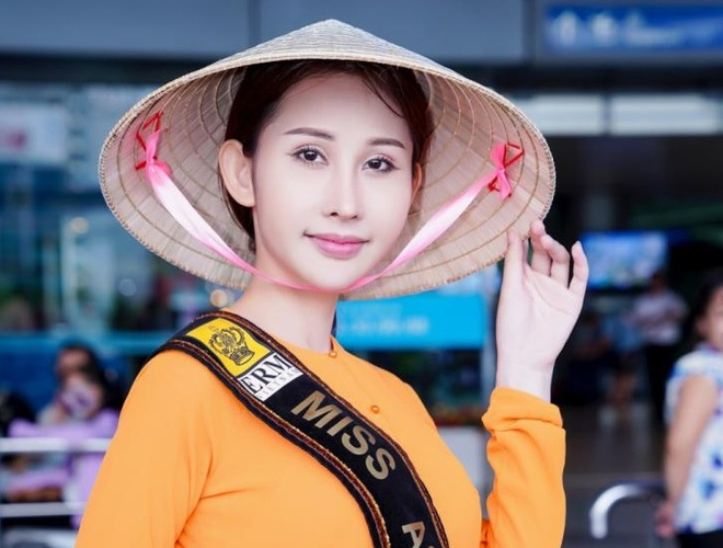 Chi Nguyen len duong 'chinh chien' tai Miss Asia World 2018 hinh anh