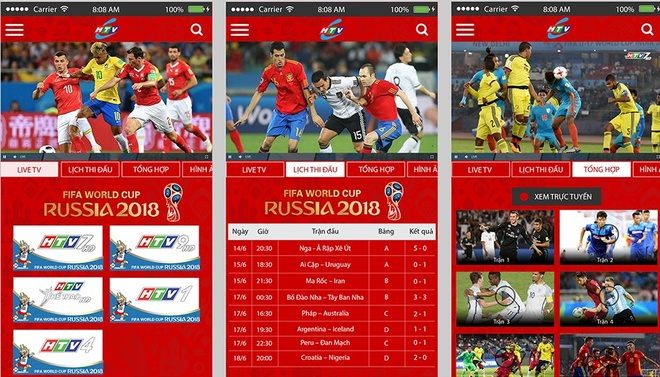 Xem World Cup mien phi tren smartphone qua ung dung HTVC hinh anh 2