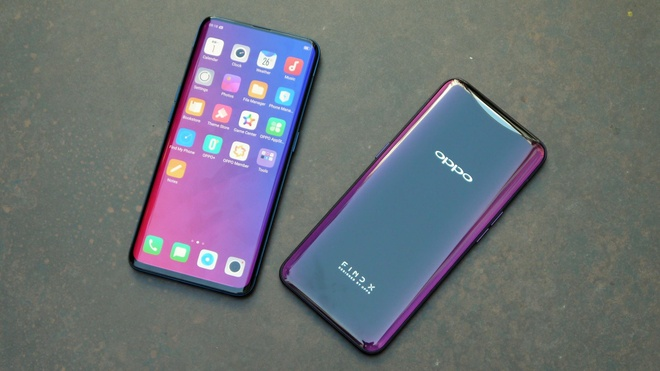 Oppo Find X: Thiet ke Panoramic Arc, camera an trong than may hinh anh 1