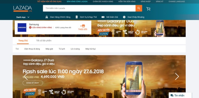 Lazada uu dai hap dan cho Galaxy J7 Duo truoc ngay mo ban hinh anh 3