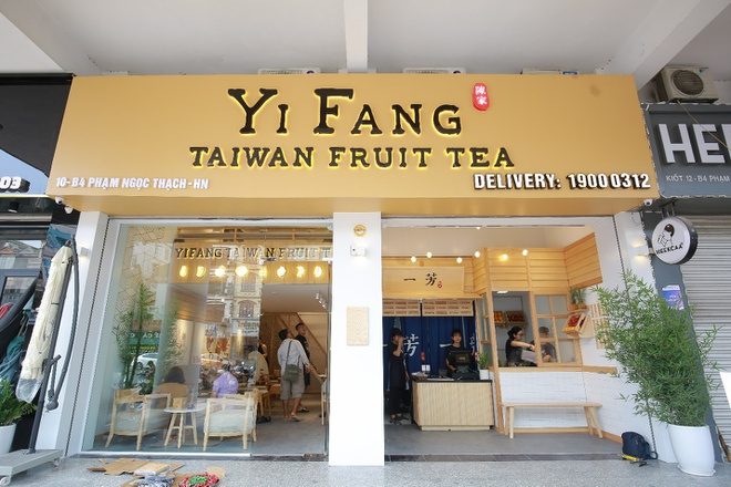 Gioi tre xep hang dai cho thuong thuc tra hoa qua Dai Loan hinh anh 1
