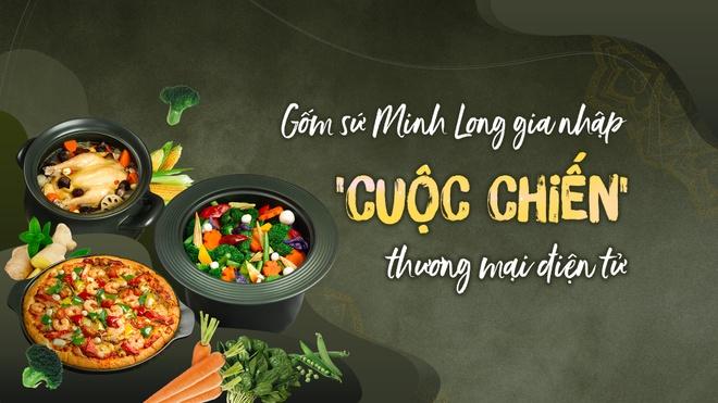 Gom su Minh Long gia nhap 'cuoc chien' thuong mai dien tu hinh anh