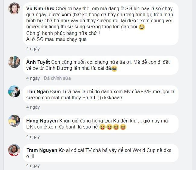 Dam Vinh Hung ru fan lap hoi toi nha xem World Cup hinh anh 2