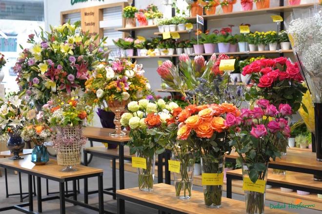Dalat Hasfarm khai truong cua hang hoa tuoi dau tien o Binh Duong hinh anh 5