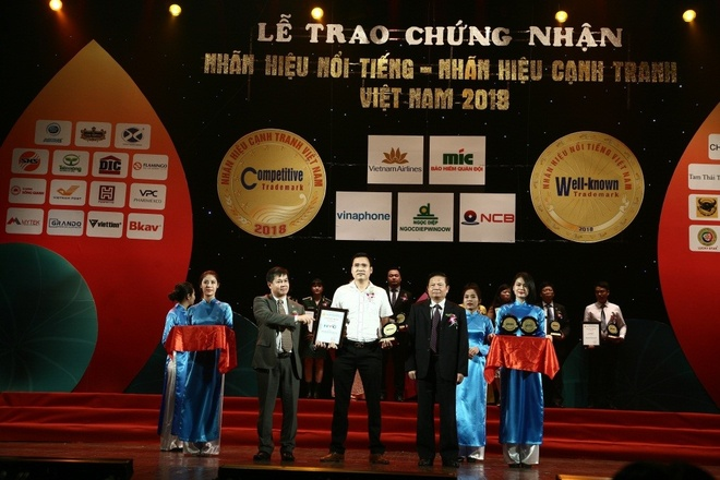HVC Group 2 nam lien duoc vinh danh Nhan hieu noi tieng Viet Nam hinh anh 1