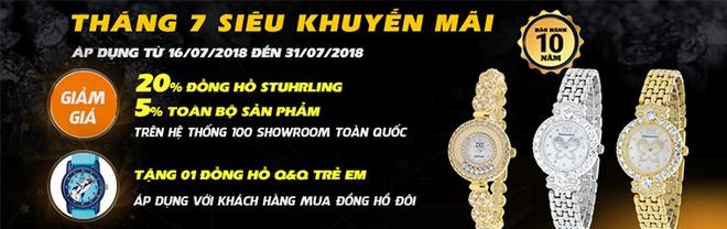 Dang Quang Watch uu dai den 20% trong thang 7 hinh anh 4
