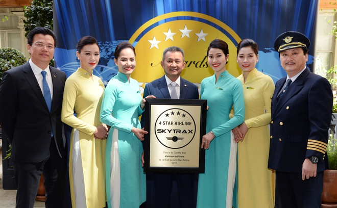 Skytrax danh gia cao dieu gi o hang bay 4 sao Vietnam Airlines? hinh anh