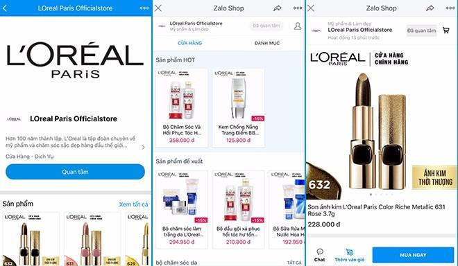 GD Marketing L'Oreal VN: 'Zalo la kenh ban hang khong the bo qua' hinh anh 2