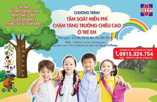 Tre tuoi day thi kho tang chieu cao: Co the thieu hormone tang truong hinh
