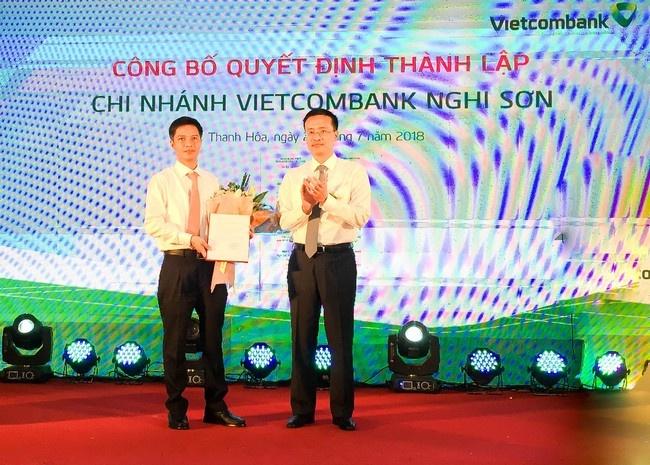 Vietcombank khai truong hoat dong chi nhanh Nghi Son hinh anh 2