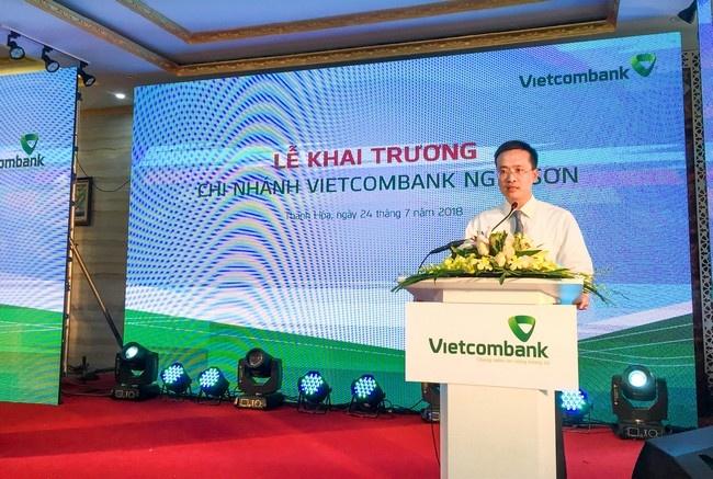 Vietcombank khai truong hoat dong chi nhanh Nghi Son hinh anh 3
