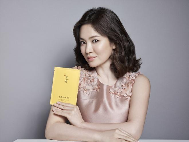 Bi quyet lam dep cua 'quoc bao nhan sac' Song Hye Kyo hinh anh