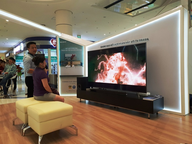 Trai nghiem am thanh Acoustic Surface, Playstation tren Bravia OLED TV hinh anh 6
