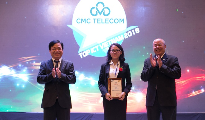 CMC Telecom nhan giai Nha cung cap dien toan dam may hang dau VN hinh anh