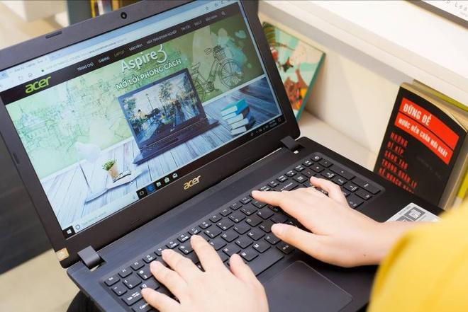Acer A3 - laptop thiet ke hien dai, cau hinh da dang cho sinh vien hinh anh 2