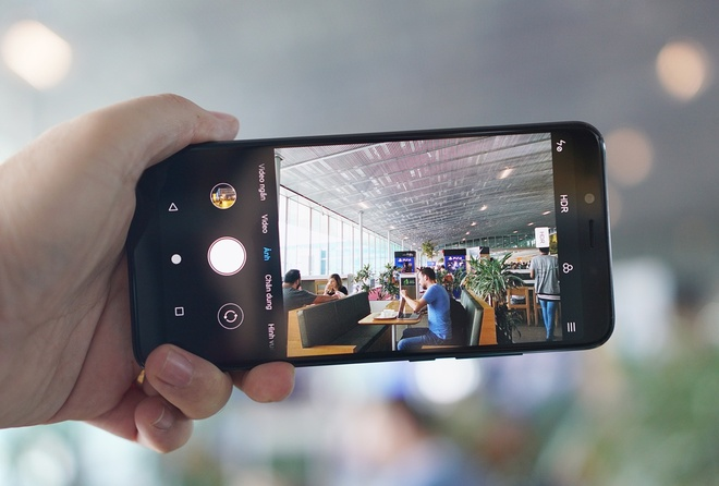 Trai nghiem nhanh camera Xiaomi Mi A2: Tot hon mong doi hinh anh