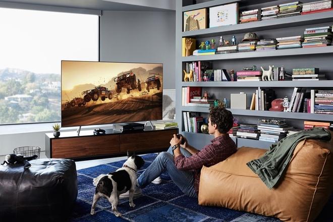 Samsung ky vong mo rong thi phan TV QLED voi mau Q6F hinh anh