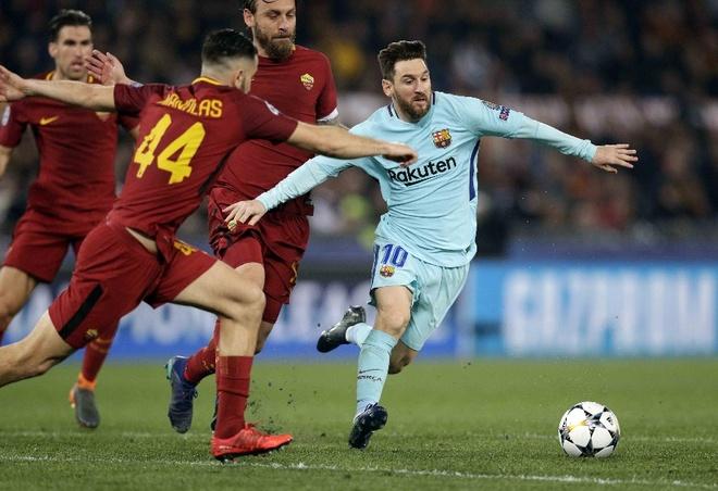 AS Roma doi dau Barca, nuoi giac mo 'phuc thu' tai ICC 2018 hinh anh 1