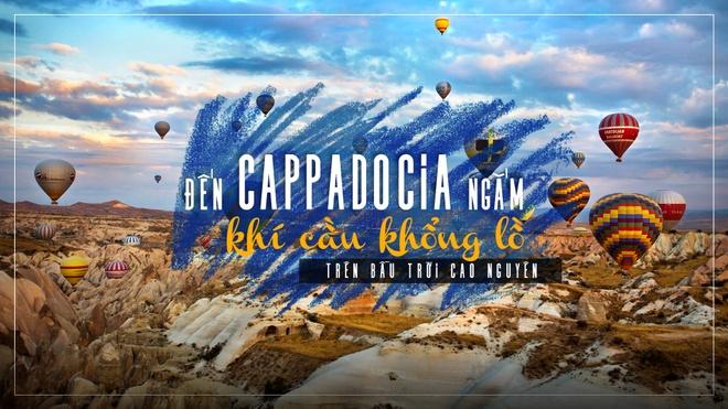 Den Cappadocia ngam khi cau khong lo tren bau troi cao nguyen hinh anh