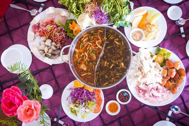 Thuong thuc buffet lau rau tu 99.000 dong/khach tai Da Lat hinh anh
