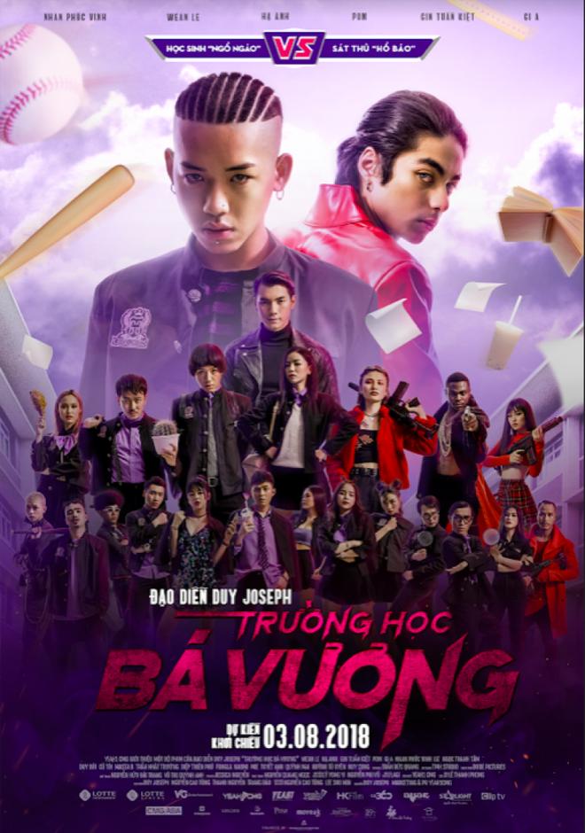 Dan dien vien Viet tham du hop bao ra mat phim 'Truong hoc ba vuong' hinh anh 5