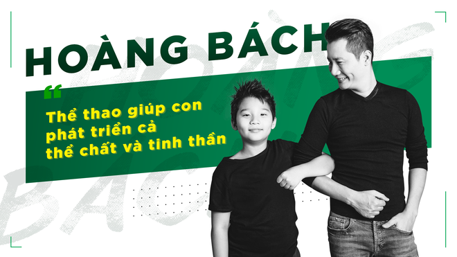 Hoang Bach: 'The thao giup con phat trien ca the chat va tinh than' hinh anh