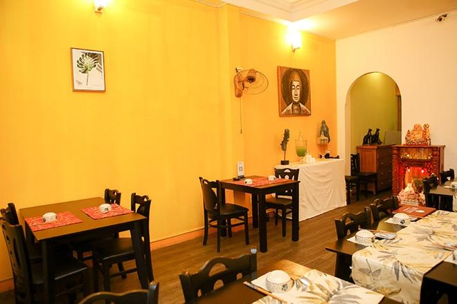 K Vegeterian Cafe & Restaurant - quan an chay cho gia dinh dip Vu Lan hinh anh 1