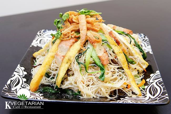 K Vegeterian Cafe & Restaurant - quan an chay cho gia dinh dip Vu Lan hinh anh 3
