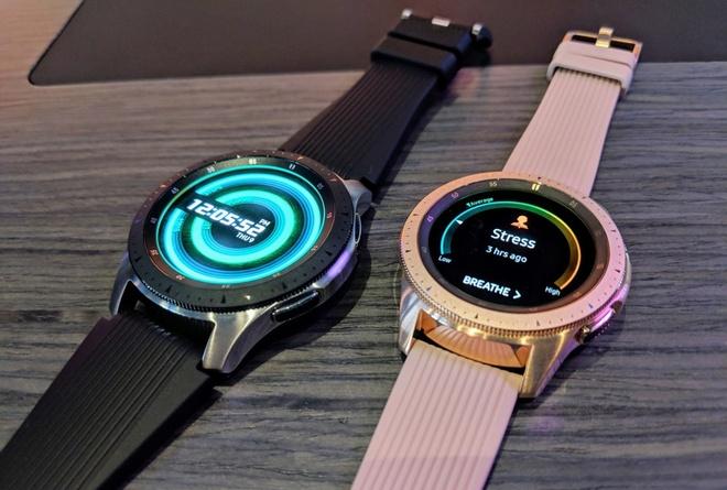 Dong ho Galaxy Watch, loa thong minh Galaxy Home trinh lang hinh anh