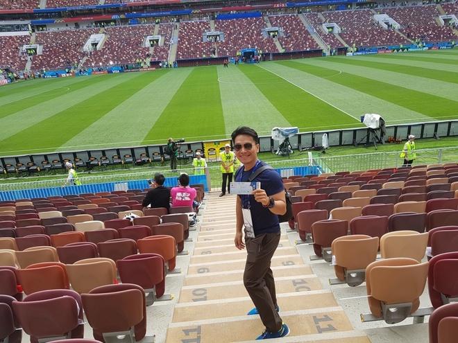 Trai nghiem thu vi cua Hoang Le Giang tai Nga dip FIFA World Cup 2018 hinh anh 3