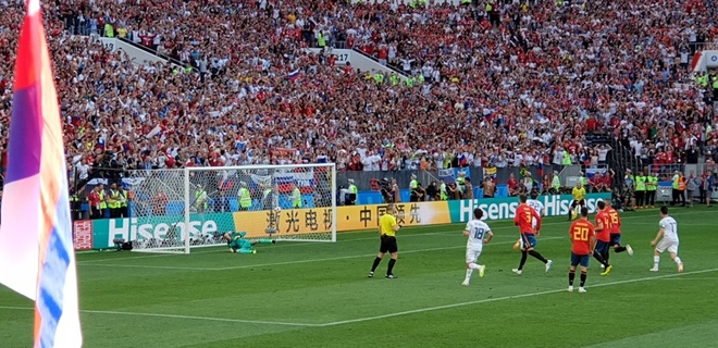 Trai nghiem thu vi cua Hoang Le Giang tai Nga dip FIFA World Cup 2018 hinh anh 5