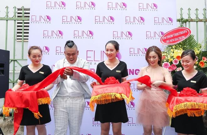 Elina Beauty Spa cua dien vien Thien Thuy tung bung khai truong hinh anh 4