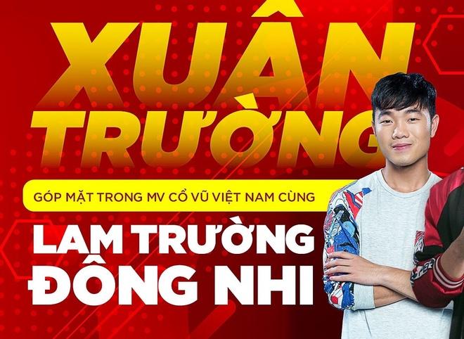 Xuan Truong gop mat trong MV co vu Viet Nam cung Lam Truong, Dong Nhi hinh anh