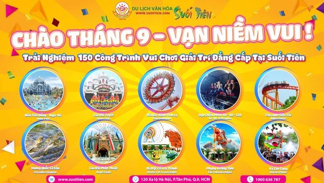 Don le Vu Lan va Quoc khanh 2/9 voi nhieu uu dai tai Suoi Tien hinh anh 1