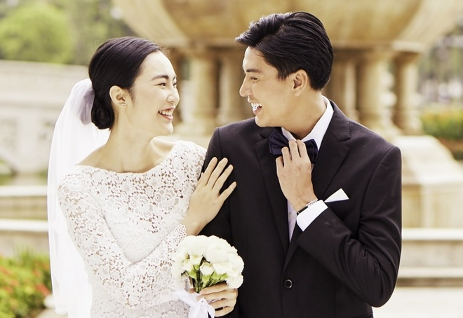 Cu dan mang hoa ba mai ket duyen Quang Dai - Helly Tong hinh anh