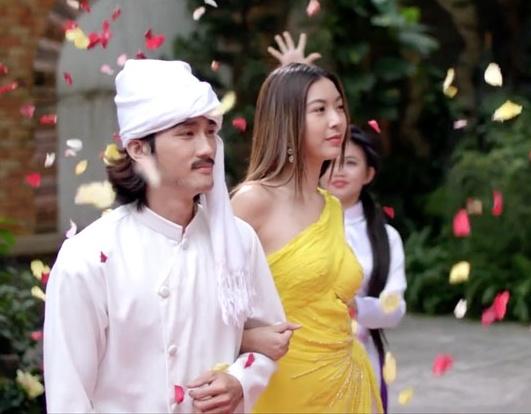 A hau Thuy Van le bong vi tap trung su nghiep trong 'Bao gio het e' hinh anh 5