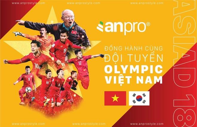 Cung AnPro co vu tuyen Olympic Viet Nam tai que 3 tuyen thu hinh anh